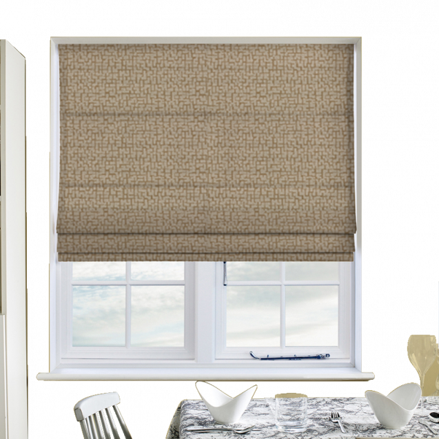 Andorra Cream Roman Blinds