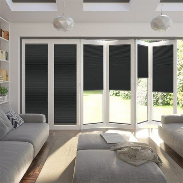 Anthracite Blackout Honeycomb Blind