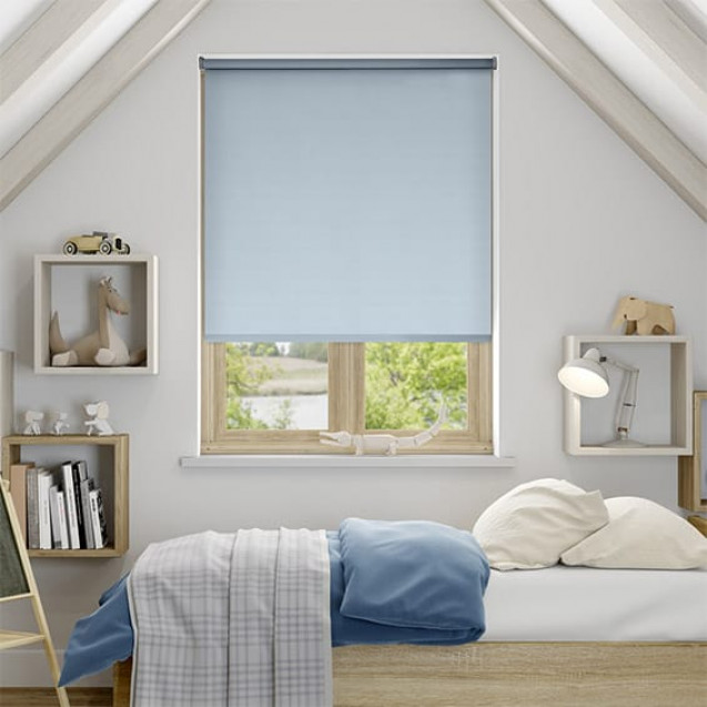 Aruba Air Blue Blackout Roller Blind