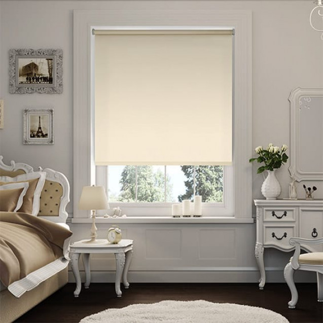 Aruba Beige Blackout Roller Blind