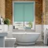 Aruba Pool Blue Plain Roller Blind