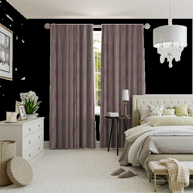 Celine Mauve Curtain