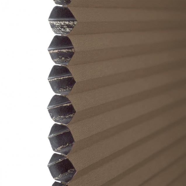 Chocolate Blackout Honeycomb Blind