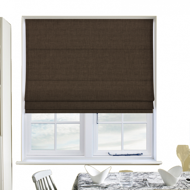 Cotton Candy Dune Roman Blinds