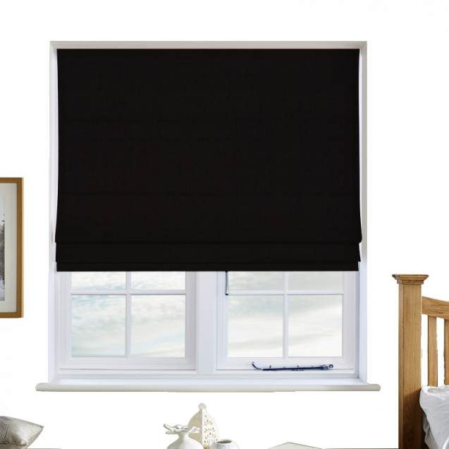 Cotton Candy Night Roman Blinds