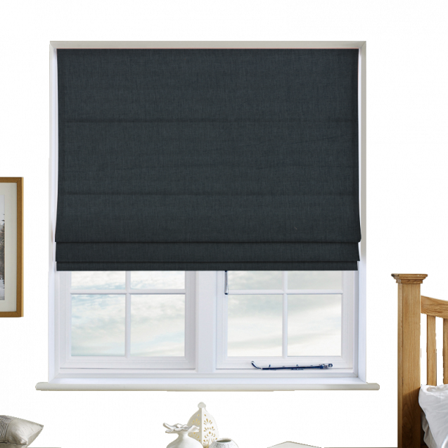 Cotton Candy Water Roman Blinds