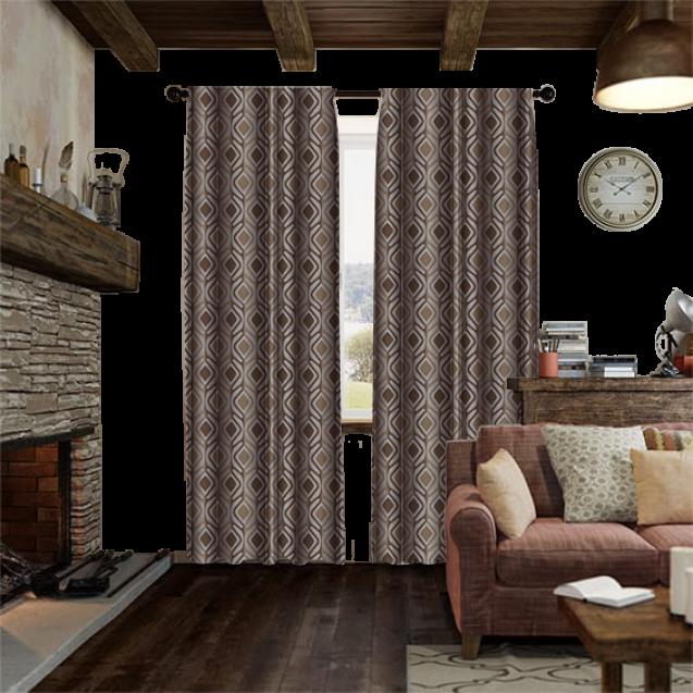 Crystal Gold Curtain