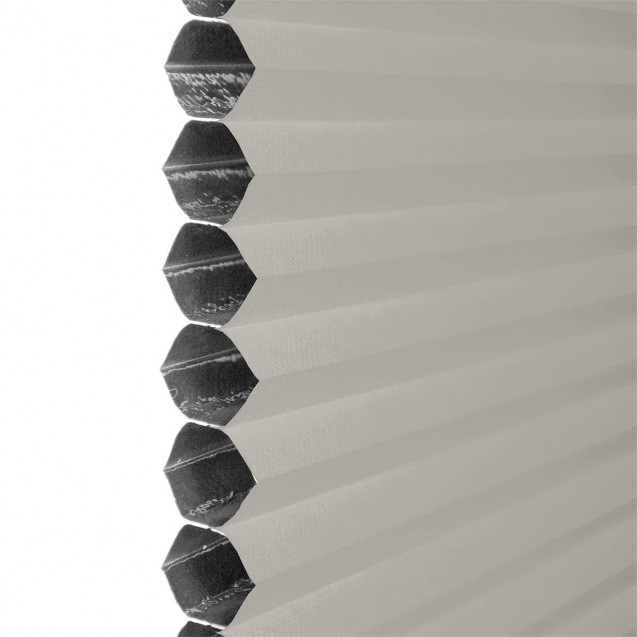 Grey Blackout Honeycomb Blind