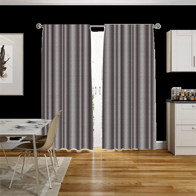 Kingston Powder Gray Curtain