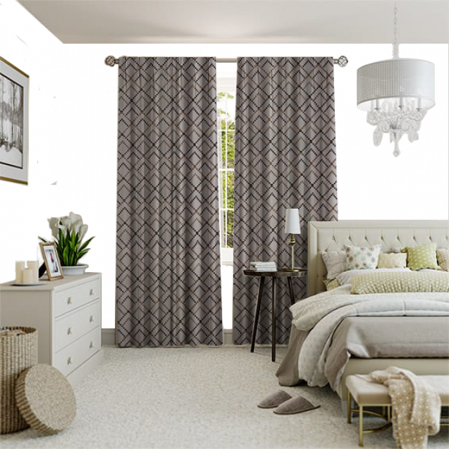 Petal Vanilla Curtain