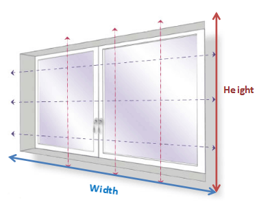 measuring for exact blinds